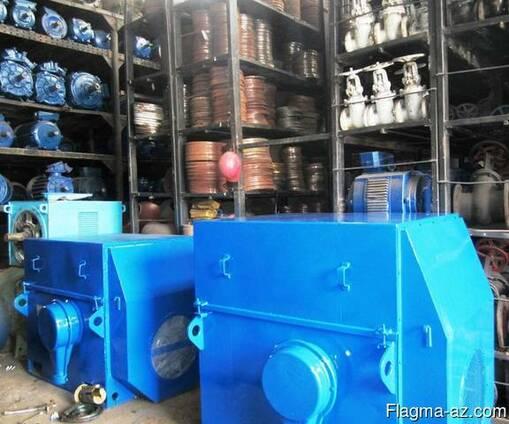Электродвигатели 160 кВт - 3150 кВт, в наличии с хранения.