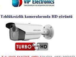 HD Tehlukesizlik kameralarının quraşdırılması