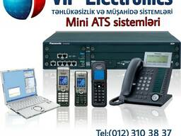 Mini ATS sistemlərinin satışı və quraşdırılması