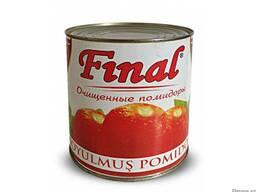 """Очищенные помидоры """"Final """" 2.5 кг"""