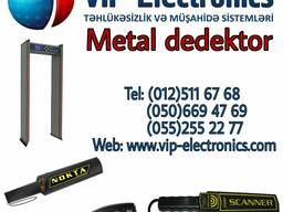 Qapı tipli metal arama detektorları