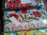 Скатерти, полотенца в украинском стиле, лён-рогожка - фото 4