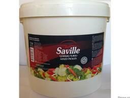 """Смешанные соленья """"Saville"""" 16 кг"""