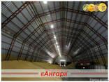 Ангары арочные, склады, цеха, зернохранилища ширина от 8м д - photo 4