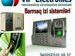 Barmaq izi kartla giriş üz tanıma sistemləri