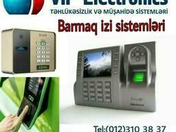 Card reader, finger print, face control sistemləri