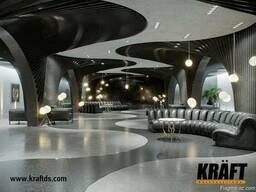 Dizayner istehsalçıdan KRAFT asma tavanları