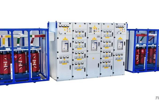 Подстанции трансформаторные блочные КТПБ-400. ..2500/10(