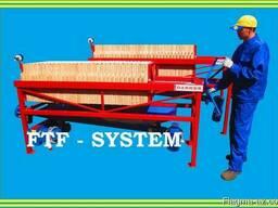 Фильтр рамочный напорно-вакуумный. FTF-system