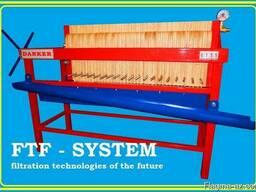 Фильтр рамочный напорный. FTF-system