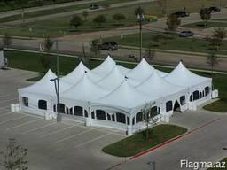 Каркасно-тентовые конструкции (тенты, шатры) - фото 3