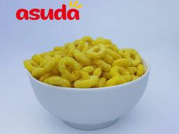 Кукурузные колечки со вкусом ванили