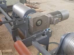 Лебедка скипового подъемника для известковой шахтной печи типа ИПШ