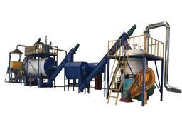Оборудование для переработки боенских отходов, рыбных отходов, перьев и крови в корму