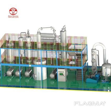 Оборудование для переработки отработанных масел и жиров