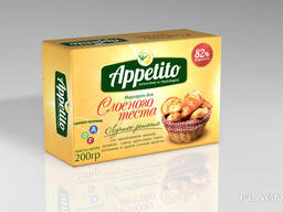 """""""Appetito"""" Margarine for puff pastry 82%"""