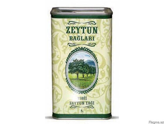 "Оливковое масло ""Zeytun bağları"" 5 л"