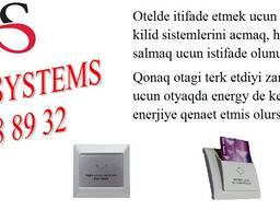 Otel kilid sistemi