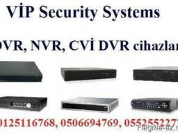 P2P funksuyalı DVR və NVR cihazlarını satışı