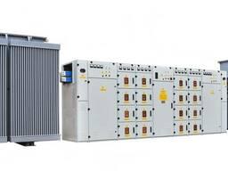 Подстанции трансформаторные блочные КТПБ-400. .. 2500/10(