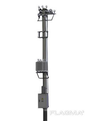 Подстанции трансформаторные комплектные столбовые