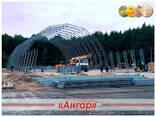 Полигональные металлические здания/ ангары - фото 7