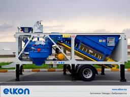 Приобъектный бетонный завод Elkon mix master-30