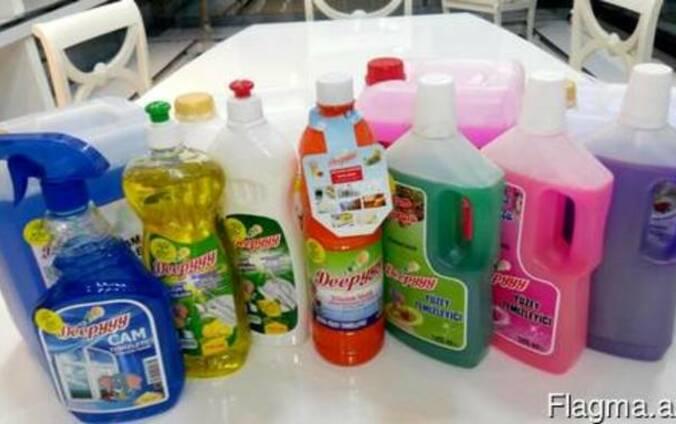 Продаём со склада в Турции оптом товары бытовой химии.