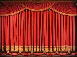 Сценический Занавес Одежда Сцены / stage curtain/sahne perde