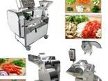 Sebze yıkama ve doğrama makinası - photo 1