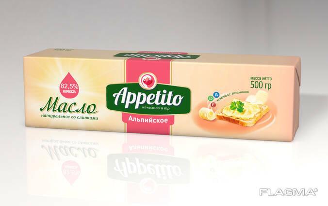 """""""Appetito"""" spread (Alpine) 82.5%"""