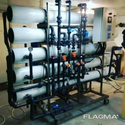 Система обратного осмоса 10 м3/час Litech Aqua QRO 10 Desolt