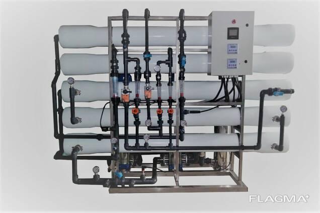 Система обратного осмоса 15 м3/час Litech Aqua Desolt NSR 15