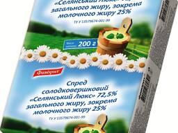 """Спреды сладкосливочные в ассортименте ГОСТ ТМ """"Фаворит"""""""