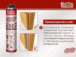Строительный клей теплоизоляции Teplis Spiderweb 1000 мл. - фото 2