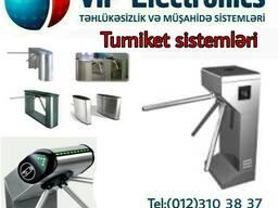VİP Turniket sistemlərinin satışı və quraşdırılması