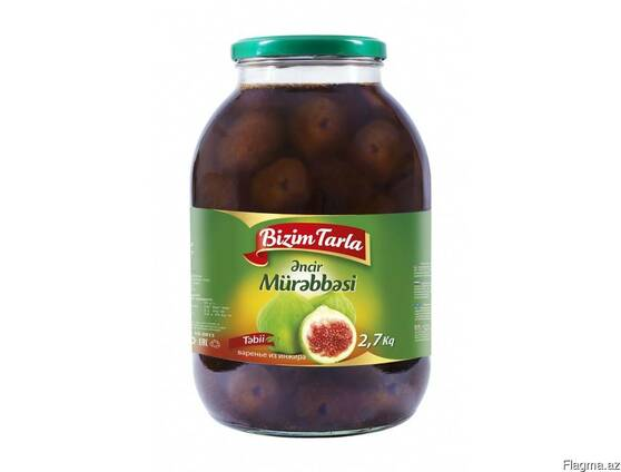 "Варенье ""Bizim tarla""из инжира 2,7 кг"