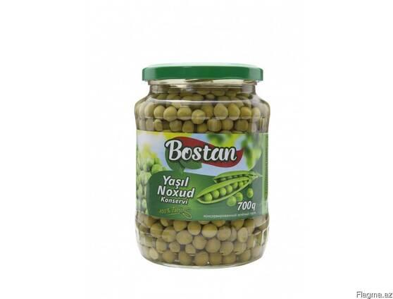"Зеленый горох ""Bostan"" 690 гр"