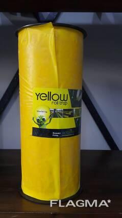 Желтые клеевые рулонные ловушки 30смх100м